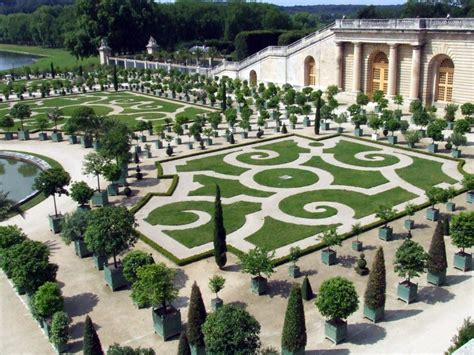 The Gardens Of Versailles by Versailles Chateau De