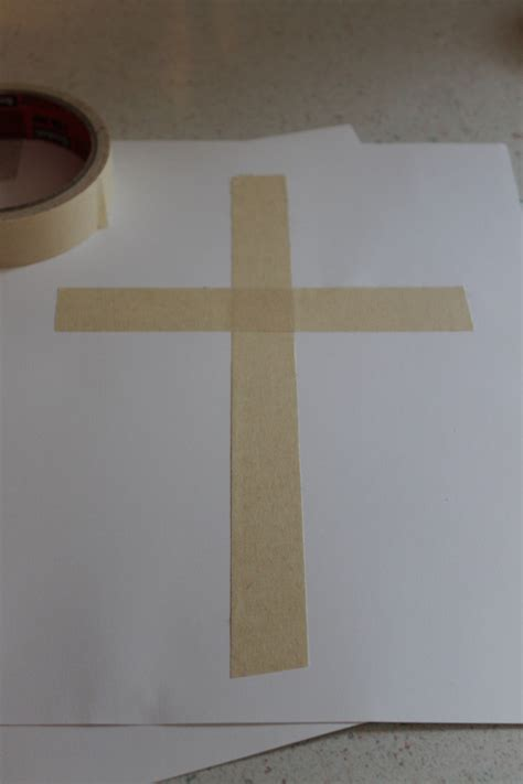 cross craft for a simple cross craft for easter happy home