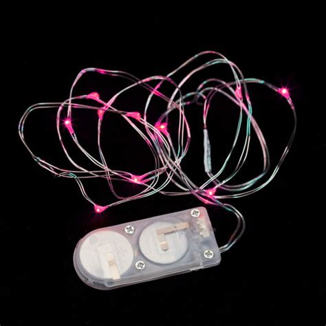 10 Micro Led Pink Submersible String Light Pink String Lights