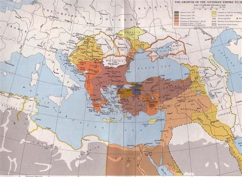 The Ottoman Empire Was Located In The Ottoman Empire At Its Greatest Extent Os 920x620 Mapporn