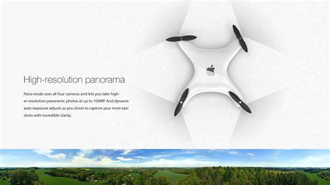 Drone Apple meet the apple drone droneality