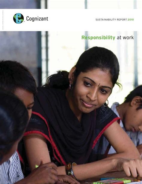 Mba Hr In Cognizant by Cognizant Sustainability Report