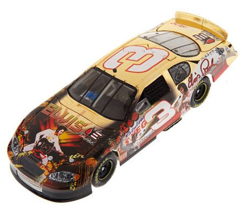 Special Diecast Nascar Chevy Rock N Roll Program Car 2004 Monte Carlo nascar dale earnhardt 2009 3 elvis gold plated1 24 scale car qvc