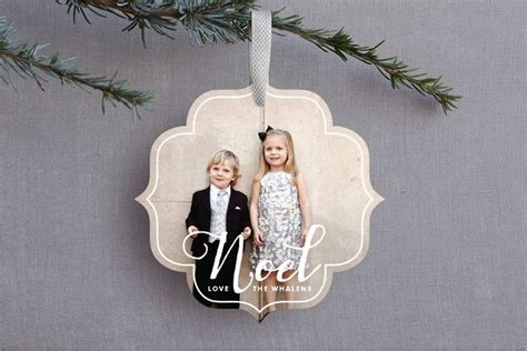 ornament photo cards white noel ornament cards dax connery