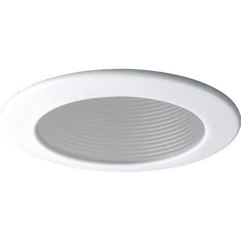 home depot recessed lighting a9fab20b lithonia lighting 4 in gu10 matte white baffle recessed kit lk4bmw u the home depot