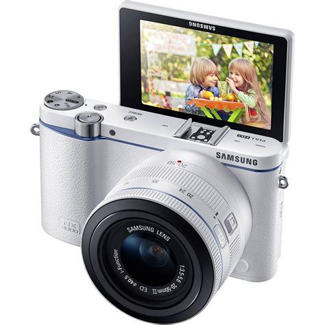 samsung mirrorless samsung nx3300 mirrorless digital ev nx3300bewus b h