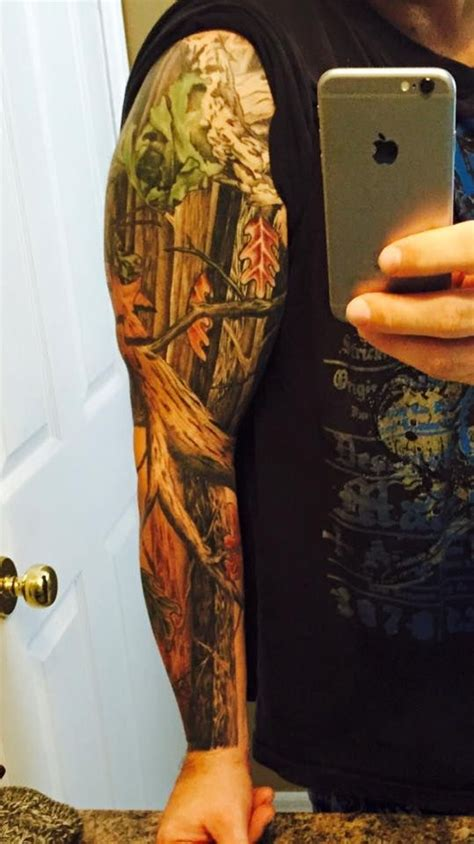 camo tattoo sleeve mossy oak camo camo and mossy oak on