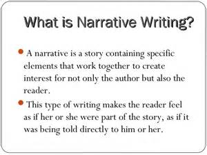 What A Narrative Essay Looks Like by Narrative Writing