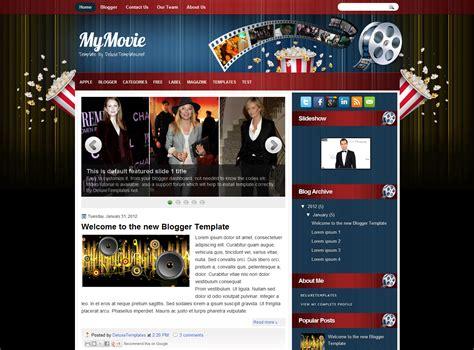 theme blog movie my movie blog template