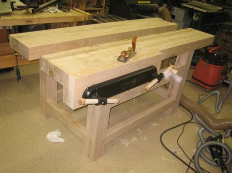 roubost blend workbench  woodwrangler  lumberjocks