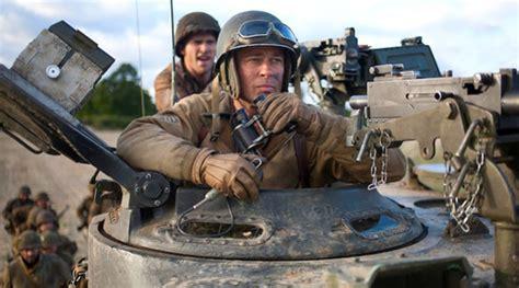 film genre perang terbaru brad pitt pimpin pasukan tank di video terbaru film perang