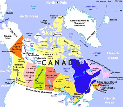 map of canada and usa with cities world map of canada images word map images and