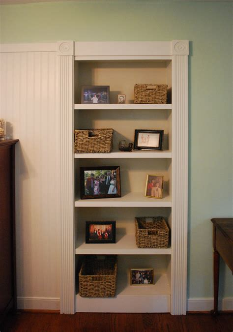 hidden door bookshelf plans  plans diy