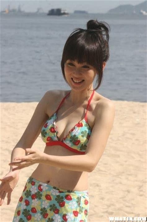 hong kong actress in bikini world of bikinis hong kong actress macy chan 陈美诗 in bikini