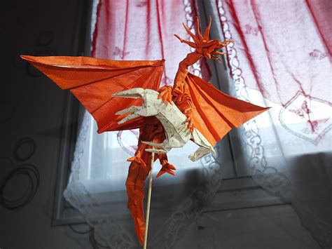 ancient origami 27 spectacular western style origami dragons