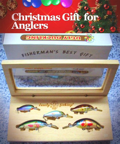 christmas gift for anglers fisherman s best gift wooden