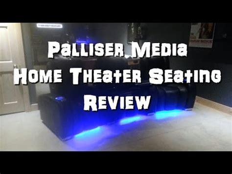 palliser media home theater seating review