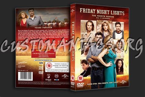 friday night lights season 4 forum tv show scanned covers page 25 dvd covers