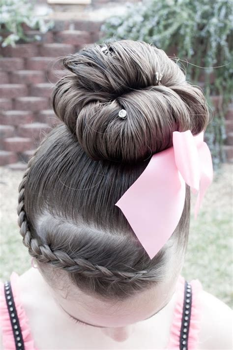 cute hairstyles for a dance cute hair style for dance recitals alison pinterest