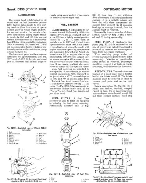 suzuki dt   service repair manual