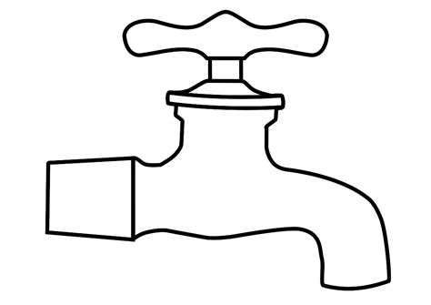 tap coloring pages tap water coloring pages