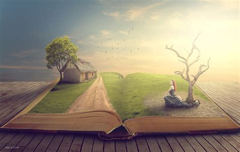 manipulated books story book photo manipulation tutorial photoshop rafy a