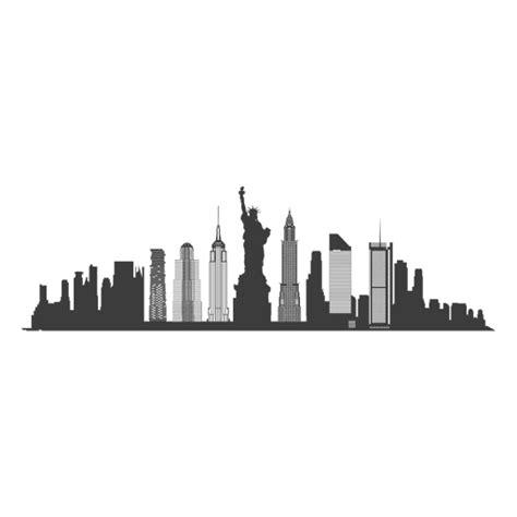 imagenes png new york silhueta do horizonte de nova york baixar png svg