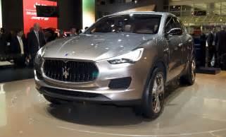 Maserati Kubang Maserati Suv May Be Imported From Turin