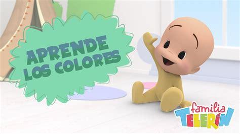 imagenes de la familia telerin con frases familia telerin aprende los colores con cuqu 237 n v 237 deo