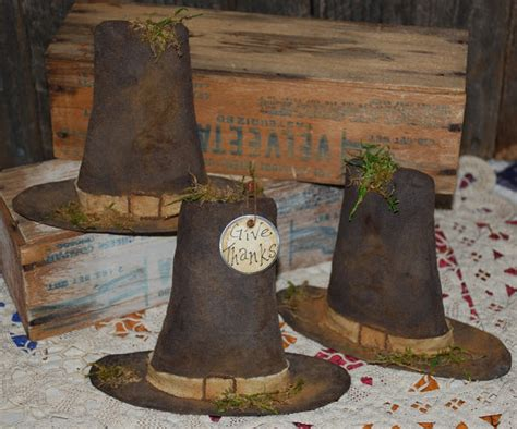 primitive bedroom decor black bear shelf sitter woodland primitive pilgrim hats rustic shelf sitters bowl fillers