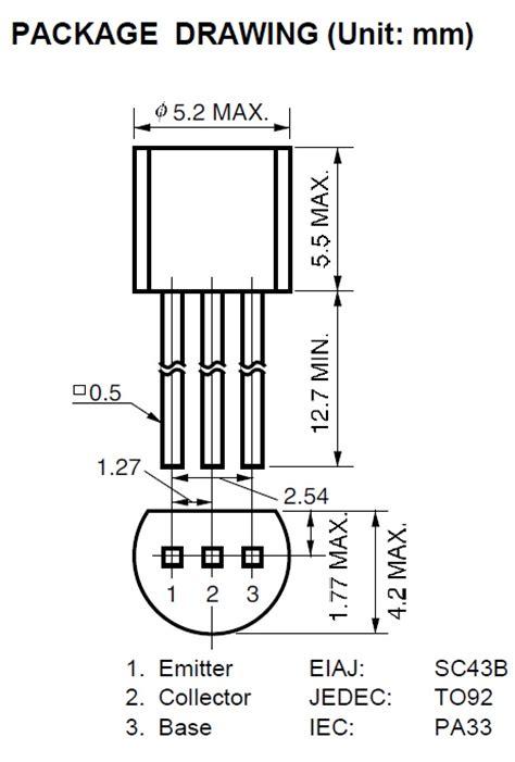c945 npn transistor datasheet filetype pdf изображения c945 аналог tonpix ru