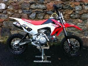 Honda Crf Pit Bike Nicely Modded Honda Crf 110 Pitbike Motors
