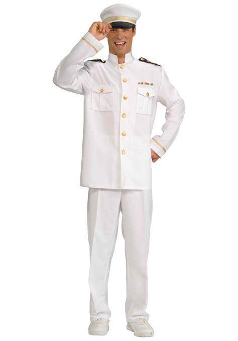captain costume mens cruise captain costume