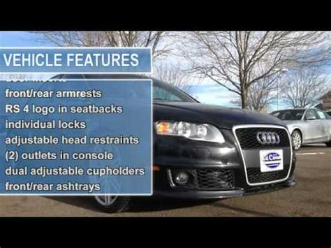 motor vehicle fort collins 2007 audi rs 4 ed carroll motor company fort collins