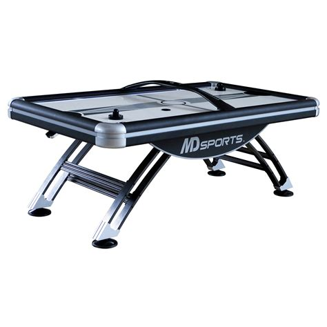 84 air hockey table md sports 84 quot titan air hockey table shop your way