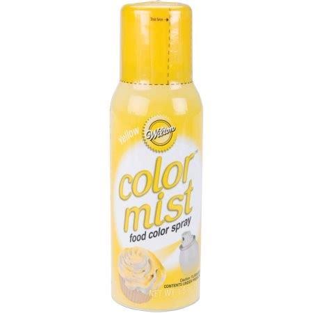 wilton color mist wilton color mist food color spray yellow priority