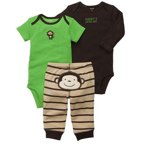 S 3 Babyboy Bodysuit And Pant Set Cs074 new nwt carters baby boys 3 bodysuit set clothes 12 18 24 months green ebay