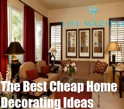 Decorating A New Home Ideas by The Best Cheap Home Decorating Ideas Cheap Decorating Tips For Home Diy Martini