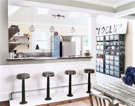 Kitchen Island Alternatives by Cocinas Con Barras Americanas