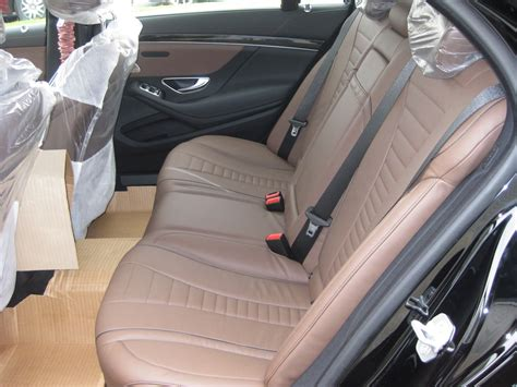brown leather seats mercedes benzblogger 187 archiv 187 2014 s550 arrives at atlanta