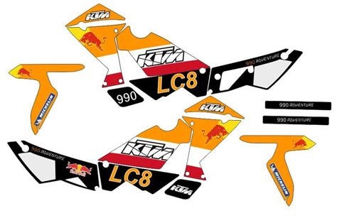 Ktm 990 Adventure Aufkleber by Kit Ktm 950 And 990 Adventure Sticker Best Quality In