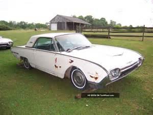 1962 ford thunderbird 2 door hardtop
