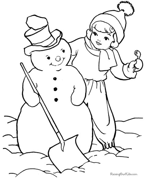 christmas tree and snowman coloring pages kid s snowman coloring pages