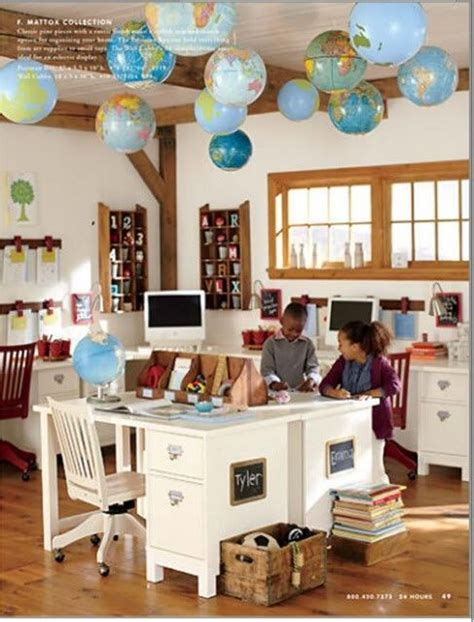 pottery barn craft room 72 best images about children s workspaces on