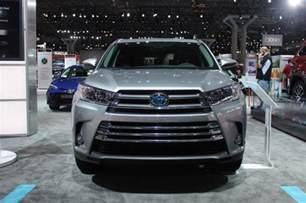 Toyota Highlander Trim Levels 2017 Toyota Highlander Hybrid To Be Offered In Four Trim