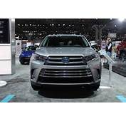 2017 Toyota Highlander Hybrid To Be Offered In Four Trim