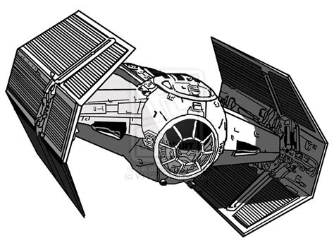 lord tie fighter and ties on