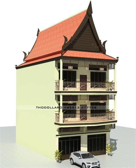 house motion design khmer house