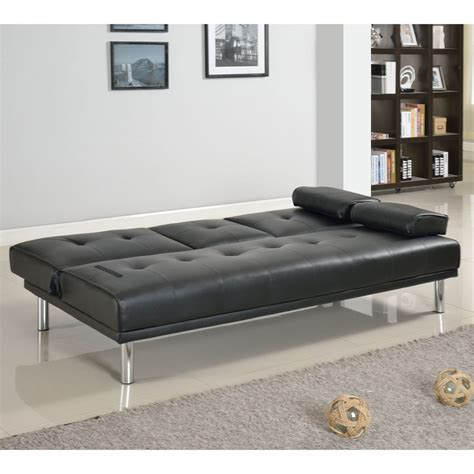 rome faux leather convertible sofa bed rome faux leather convertible futon sofa bed and chair