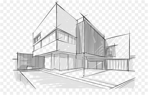 dibujo arquitectonico la arquitectura dibujo imagen png